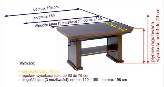 Stół / Ława Laguna