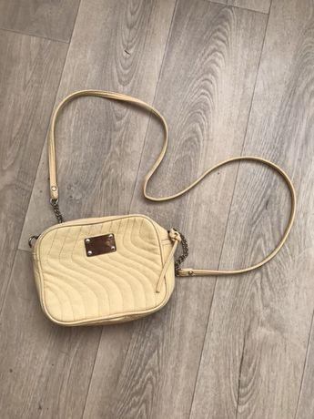 Стильная желтая сумка сумочка