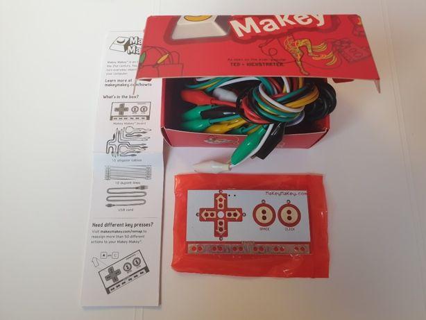 Makey kontroler do gier zestaw doświadczeń robotyka scratch dla dzieci