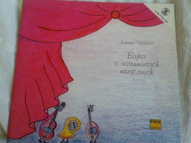 Bajka o instrumentach muzycznych Wiśnios Joanna
