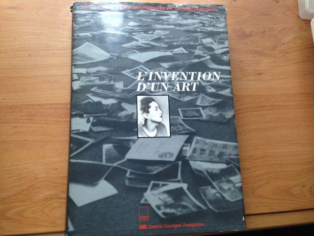 Книга по искусству на французском l'invention du art (ФОТОГРАФИЯ)