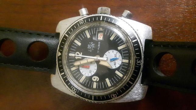 Re watch chronograph vintage diver