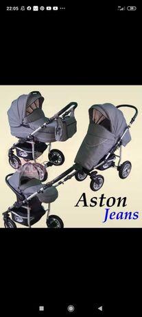 Wózek 3 w 1 Aston jeans