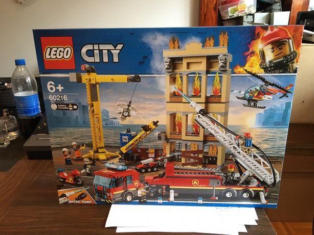 Lego 60216 City Straz Pozarna W Srodmiesciu Lego Nowe Oryginalne