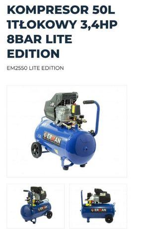 Kompresor tłokowy Erman model EM2550 LITE EDITION