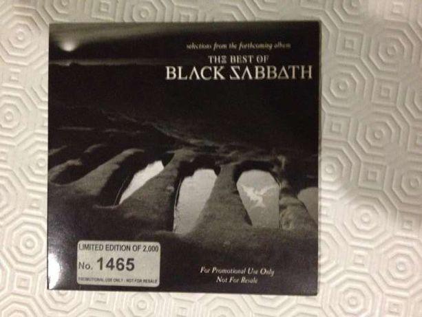 Black Sabbath - The best of - CD promo - muito raro