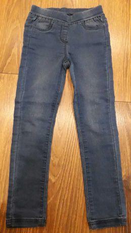 Jeansowe jegginsy dziewczęce TAPE A L'OEIL, rozmiar 110, nowe