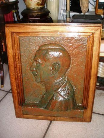 Placa Moldurada Bronze José Sousa Caldas