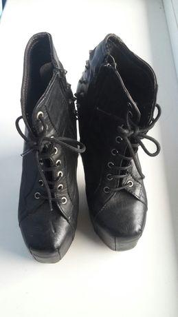 Туфлі лобутени шкіряні кожаные