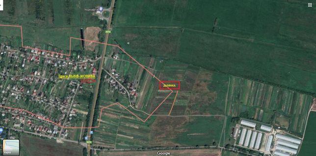 Земельна ділянка під забудову з планом (8 км від Львова)