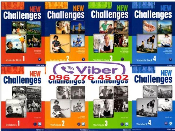 New Challenges Starter, 1, 2, 3, 4 комплект