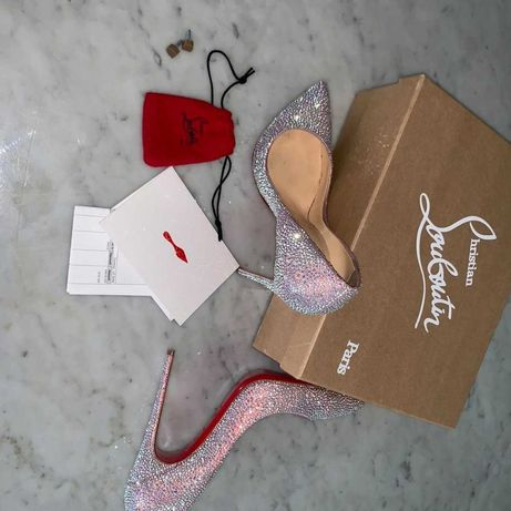 Louboutin Pigalle Strass