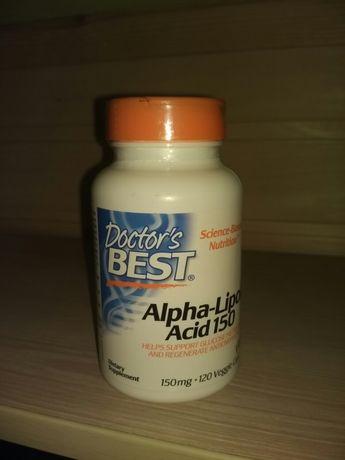 Альфа-липоевая кислота Doctor's Best 120 штук