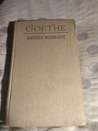 Dzieła wybrane Jan Wolfgang Goethe