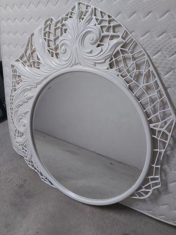 Espelho branco de design incomum
