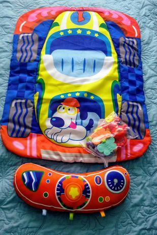 Продам новый развивающий коврик Fitch Baby с погремушками.