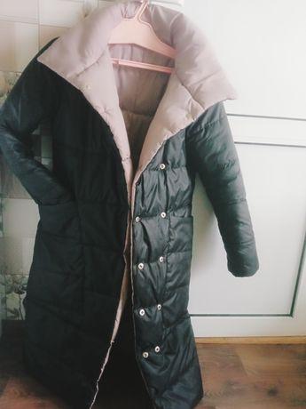 Продам свою зимнюю куртку -пальто , состоянии новое