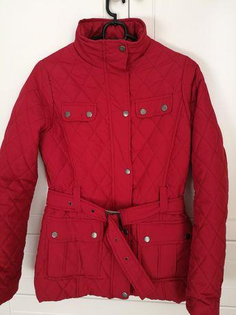 Pikowana jesienno- wiosenna kurtka rozmiar 36