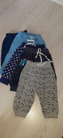 Spodnie dresowe 68-74