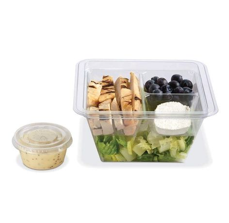 Embalagens de take-away/refeições/snacks embalados
