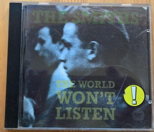 Smiths - The world won't listen CD.
