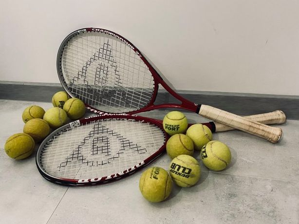 Rakiety Dunlop Championship 27 - zestaw do tenisa