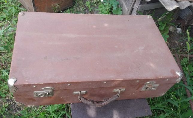 чемодан ретро СССР винтажный фабрика имени Бебеля