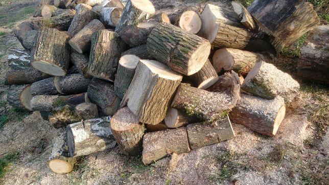 Drewno opałowe klocki twarde