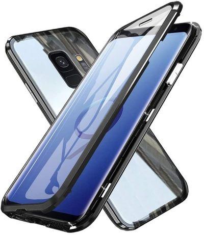 Etui 3w1 Magnetic GLASS 360° - Alu + Szkło Samsung Galaxy S9 G960F