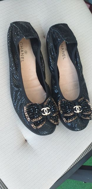 Chanel baleriny super okazja cudne
