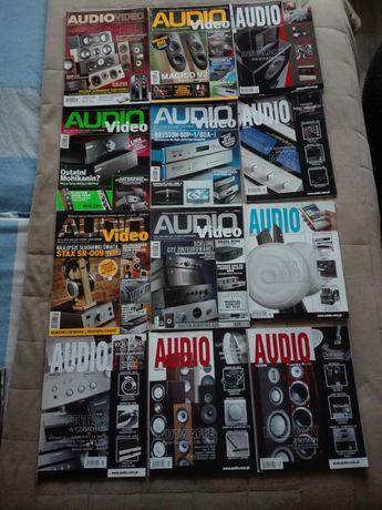 Miesięczniki, czasopisma audio, audio video, hi-fi i muzyka, 99 numeró