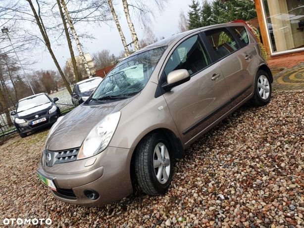 Nissan Note 1.4 Benzyna , Bogate Wyposażenie , Sprowadzony , Opłacony , Pełna dok