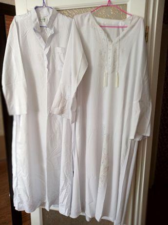 Курта мусульманская,рубашка в пол