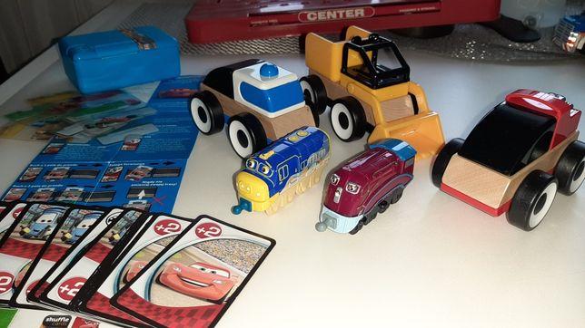 Autka Super zestaw +lokomotywy+gra