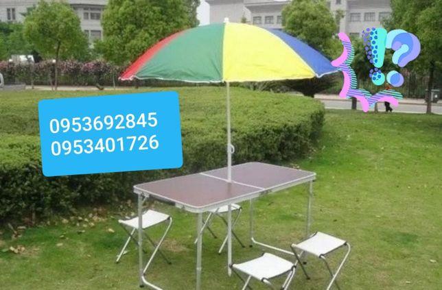 Хит ! Стол раскладной, стол для пикника усиленный+4 стула, есть зонты!