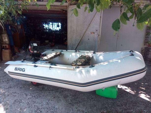 Лодка Brig 2011/Мотор Suzuki DT-8