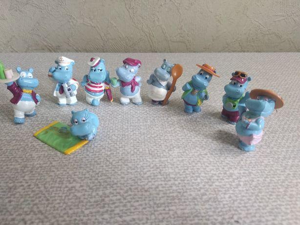 Киндер игрушка серия бегимоты