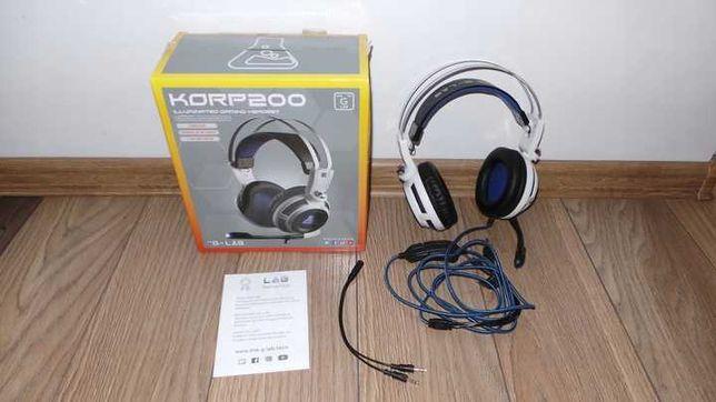IDEALNE Słuchawki gamingowe G-LAB KORP200