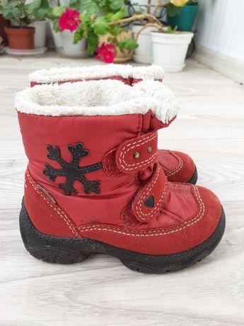 Зимние сапоги ботинки superfit 22 p-p 14 см стелька + кроссовки