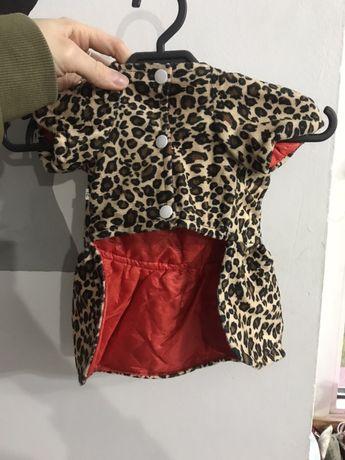 Nowa kurteczka/ sukienka dla pieska rozm M 29 cm