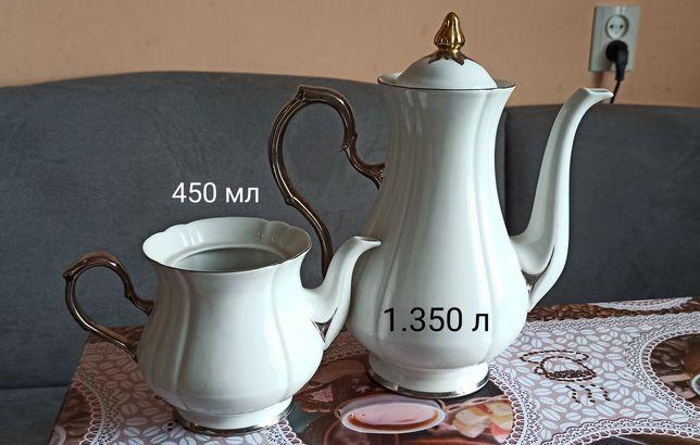 Фарфор чайник заварник Коростень