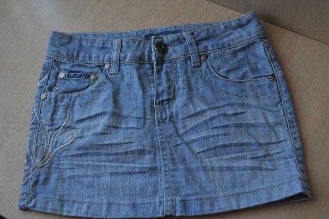 Jeansowa mini spódniczka rozm.26