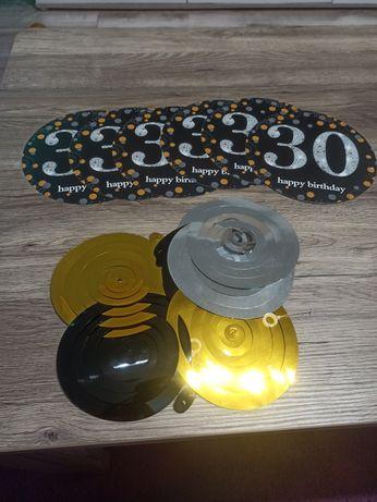 Dekoracje - 30 urodziny