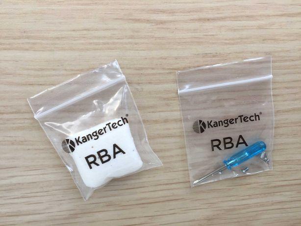 Ремкомплект Kangertech RBA набор (отвертка хлопок спираль винты)