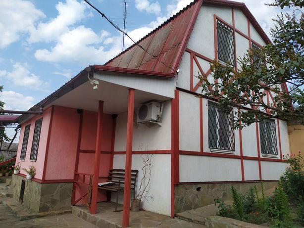 Продам свой дом с камином,баней,бассейном под Харьковом,Мерефа.Срочно!