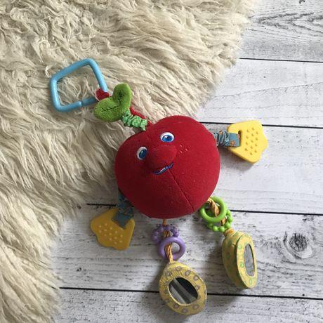 Игрушка Tinylove на кроватку коляску развивающая яблоко