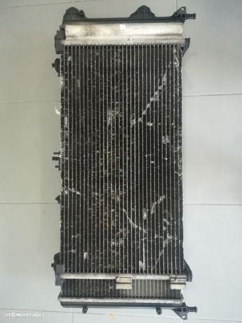conjunto de radiadores e termoventilador fiat doblo 1.3mj 2009