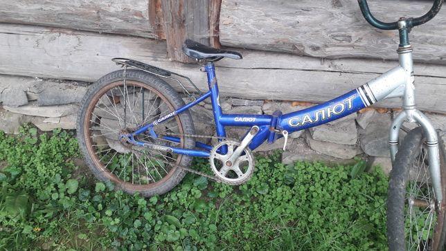 Продам дитячий велосипед розкладний 700 гр