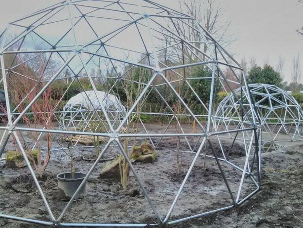 Dome geométrico estrutura