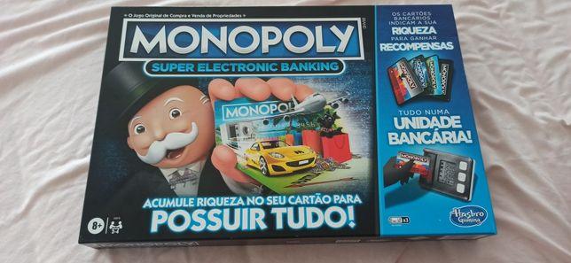 Monopoly super electronic banking nunca usado